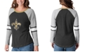 G-III Sports Women's New Orleans Saints Long Sleeve Top Pick T-Shirt