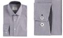 ConStruct Men's Slim-Fit Geo Check Performance Stretch Dress Shirt