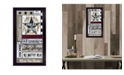 """Trendy Decor 4U Families are Forever by Linda Spivey, Ready to hang Framed Print, Black Frame, 11"""" x 20"""""""