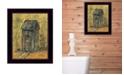 "Trendy Decor 4U Thinking Room By Gail Eads, Printed Wall Art, Ready to hang, Black Frame, 10"" x 12"""