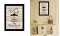 """Trendy Decor 4U The Daily Grind by Millwork Engineering, Ready to hang Framed Print, Black Frame, 10"""" x 14"""""""