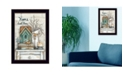 """Trendy Decor 4U Home Sweet Home By Mary June, Printed Wall Art, Ready to hang, Black Frame, 14"""" x 20"""""""