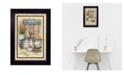 """Trendy Decor 4U Trendy Decor 4U Another Day in Paradise By Mary June, Printed Wall Art, Ready to hang, Black Frame, 10"""" x 14"""""""