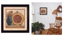 """Trendy Decor 4U Greatest Treasures By Mary June, Printed Wall Art, Ready to hang, Black Frame, 14"""" x 14"""""""