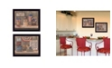 """Trendy Decor 4U Sweet Land of Liberty Collection By Pam Britton, Printed Wall Art, Ready to hang, Black Frame, 18"""" x 14"""""""