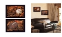 """Trendy Decor 4U Baseball and Football Collection By Lori Deiter, Printed Wall Art, Ready to hang, Black Frame, 40"""" x 14"""""""