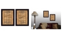 """Trendy Decor 4U Love and Faith Collection By Debbie DeWitt, Printed Wall Art, Ready to hang, Black Frame, 28"""" x 18"""""""