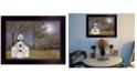 "Trendy Decor 4U Evening Prayer by Billy Jacobs, Ready to hang Framed Print, Black Frame, 18"" x 14"""