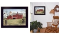 """Trendy Decor 4U Harbingers of Spring By Billy Jacobs, Printed Wall Art, Ready to hang, Black Frame, 18"""" x 14"""""""
