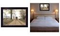 "Trendy Decor 4U Headin' Home by Billy Jacobs, Ready to hang Framed Print, Black Frame, 18"" x 14"""