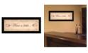 "Trendy Decor 4U Trendy Decor 4U Wine a Little By Becca Barton, Printed Wall Art, Ready to hang, Black Frame, 20"" x 8"""