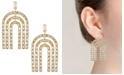 Trifari Gold-Tone Chandelier Earrings