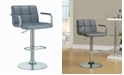 Coaster Home Furnishings Carlsbad Upholstery Adjustable Bar Stool