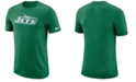 Nike Men's New York Jets Marled Historic Logo T-Shirt