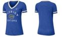 Nike Women's Florida Gators Slub Fan V-Neck T-Shirt