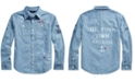 Polo Ralph Lauren Big Girls Nautical Cotton Chambray Shirt
