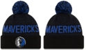 New Era Dallas Mavericks Blackout Speckle Knit Hat
