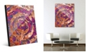 Creative Gallery Dream Catcher's Dream in Magenta Abstract Acrylic Wall Art Print Collection