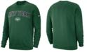Nike Men's New York Jets Fleece Club Crew Sweatshirt