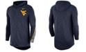 Nike Men's West Virginia Mountaineers Hooded Sideline Long Sleeve T-Shirt
