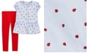 Carter's Toddler Girls 2-Pc. Ladybug-Print Shirt & Jersey Leggings Set