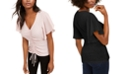 INC International Concepts INC Petite Ruched-Front Top, Created For Macy's