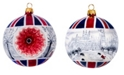 Joy to the World Vintage Reflector Ball - London Winter ..