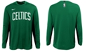 Nike Big Boys Boston Celtics Long Sleeve Shooter T-Shirt