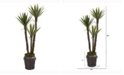 Nearly Natural 61in. Yucca Artificial Tree in Metal Planter