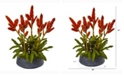 Nearly Natural 27in. Tropical Bromeliad Artificial Plant in Decorative Bowl
