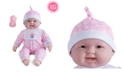"""JC TOYS Lots to Cuddle Babies 20"""" Soft Body Baby Doll and Accessories for Children 2 Years and Older, Designed by Berenguer"""