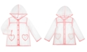 Epic Threads Toddler Girls Clear Heart Raincoat, Created for Macy's