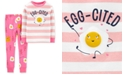 Carter's Toddler Girls 2-Pc. Cotton Breakfast Pajamas Set