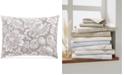 Charter Club Jacobean Cotton 300-Thread Count Standard Sham, Created For Macy's