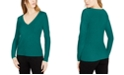 INC International Concepts INC Cotton V-Neck Top, Created for Macy's
