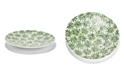 Two's Company Daisy Mother of Pearl Decorative Platter