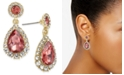 Charter Club Gold-Tone Crystal Teardrop Drop Earrings, Created for Macy's