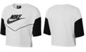 Nike Sportswear Cotton Heritage Cropped T-Shirt