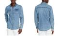 Buffalo David Bitton Men's Slim-Fit Sigoul Denim Shirt
