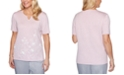 Alfred Dunner Primrose Garden Embroidered Top
