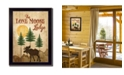 Trendy Decor 4U Trendy Decor 4U Lone Moose By Mollie B., Printed Wall Art, Ready to hang Collection