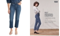 Levi's 501® Cropped Straight-Leg Jeans