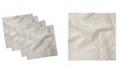 "Ambesonne Oriental Set of 4 Napkins, 12"" x 12"""