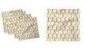 "Ambesonne Pineapple Set of 4 Napkins, 12"" x 12"""