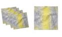 "Ambesonne Eastern Mandala Set of 4 Napkins, 12"" x 12"""