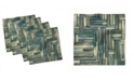 """Ambesonne Wooden Set of 4 Napkins, 12"""" x 12"""""""