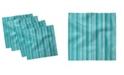 "Ambesonne Aqua Set of 4 Napkins, 12"" x 12"""