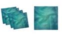 "Ambesonne Weathered Design Set of 4 Napkins, 12"" x 12"""