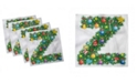 "Ambesonne Letter Z Set of 4 Napkins, 12"" x 12"""