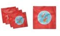 """Ambesonne Goldfish Set of 4 Napkins, 12"""" x 12"""""""